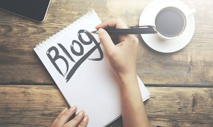 Own a blog and Blogging
