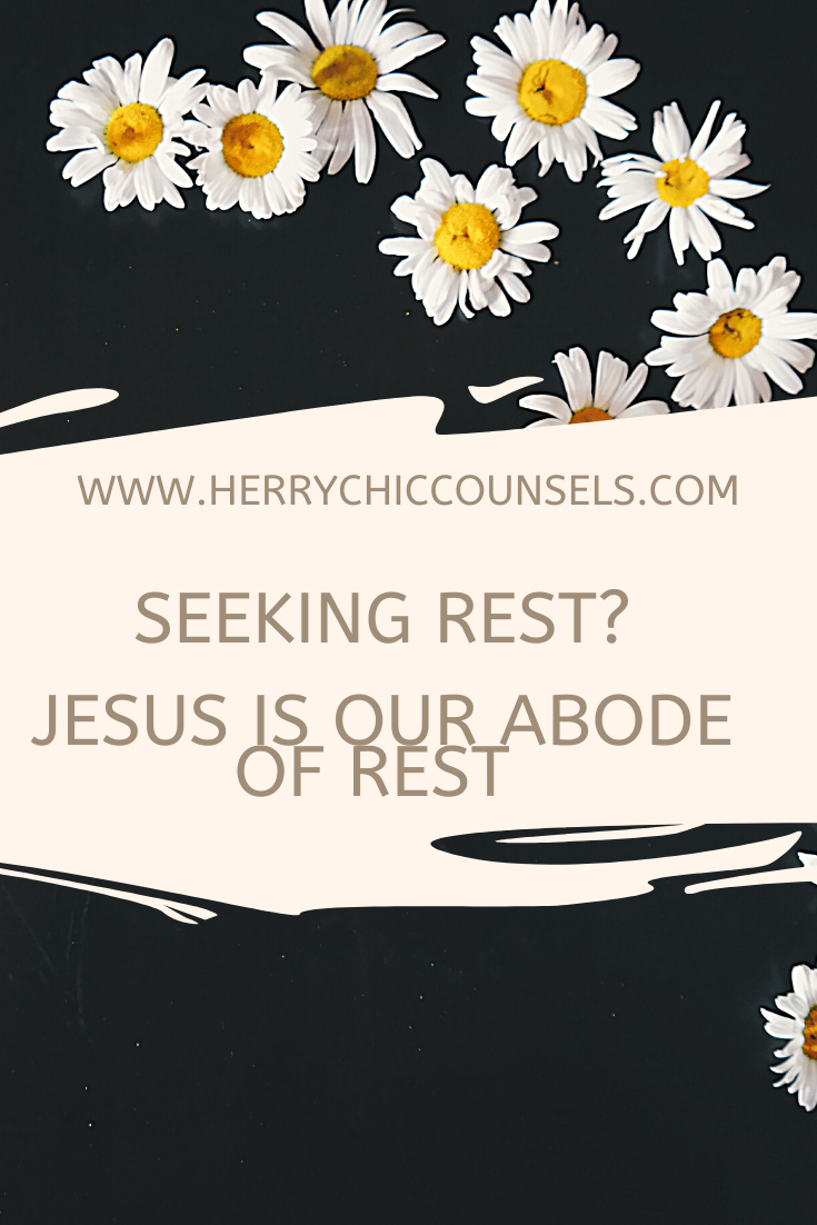 Seeking rest in Jesus