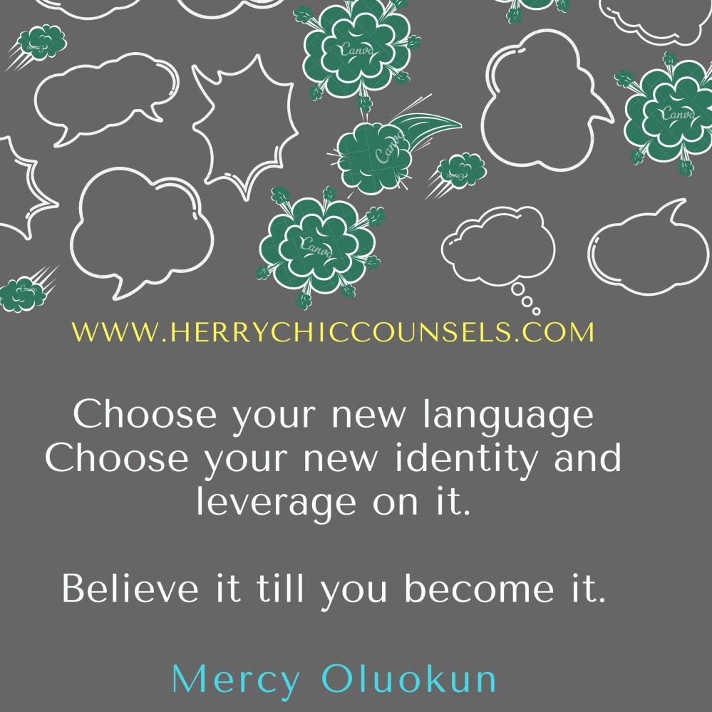 New language - new identity - Believe