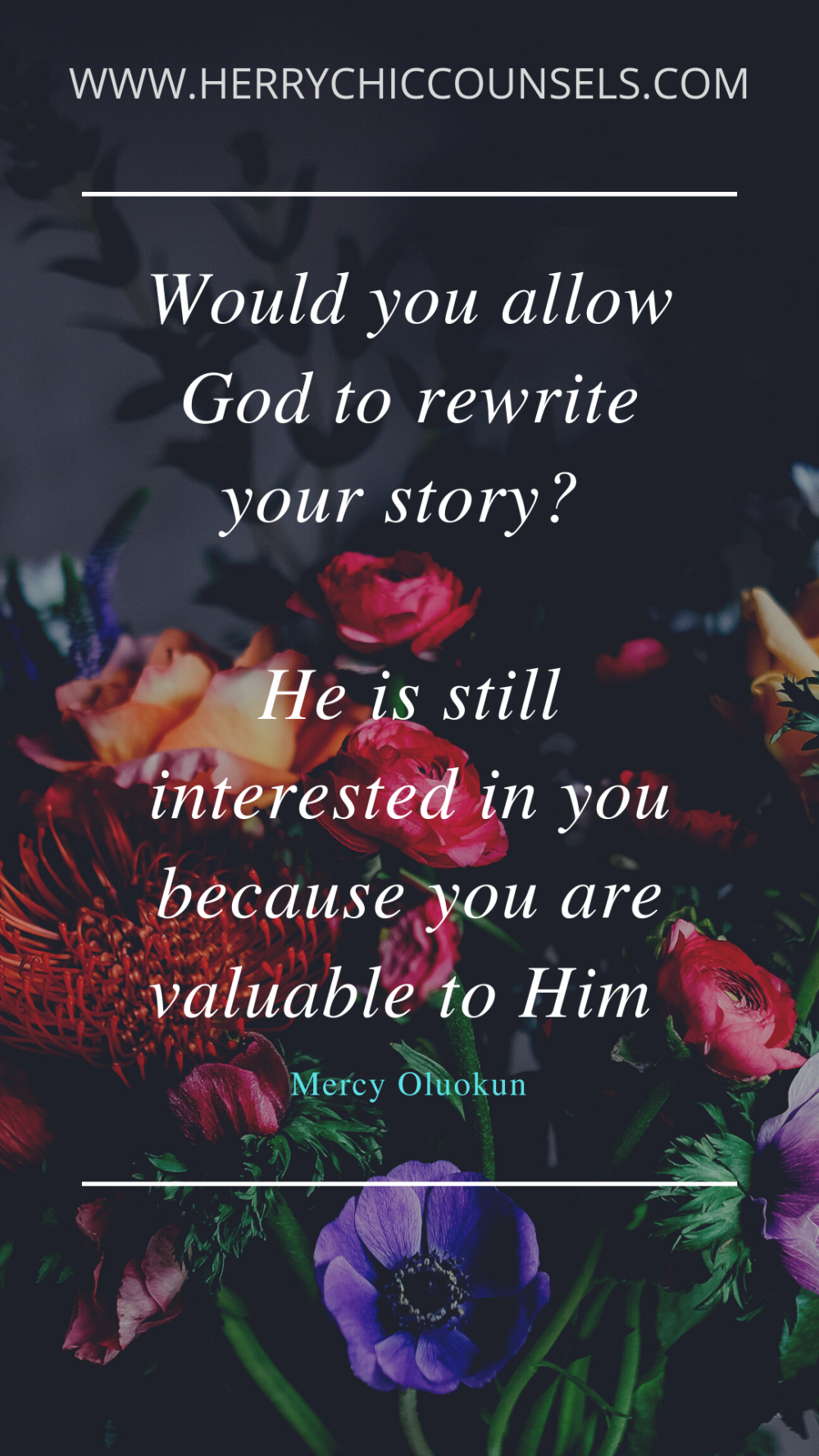 Valuable - Rewrite your story - Love driven