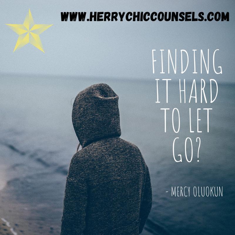 Find it hard - let go
